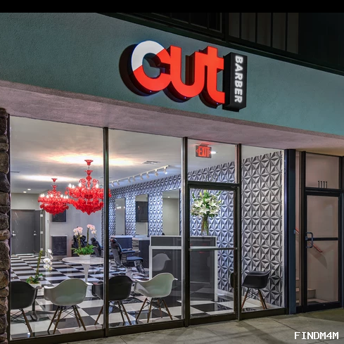 A modern-day barbershop located in the Uptown Design Distric