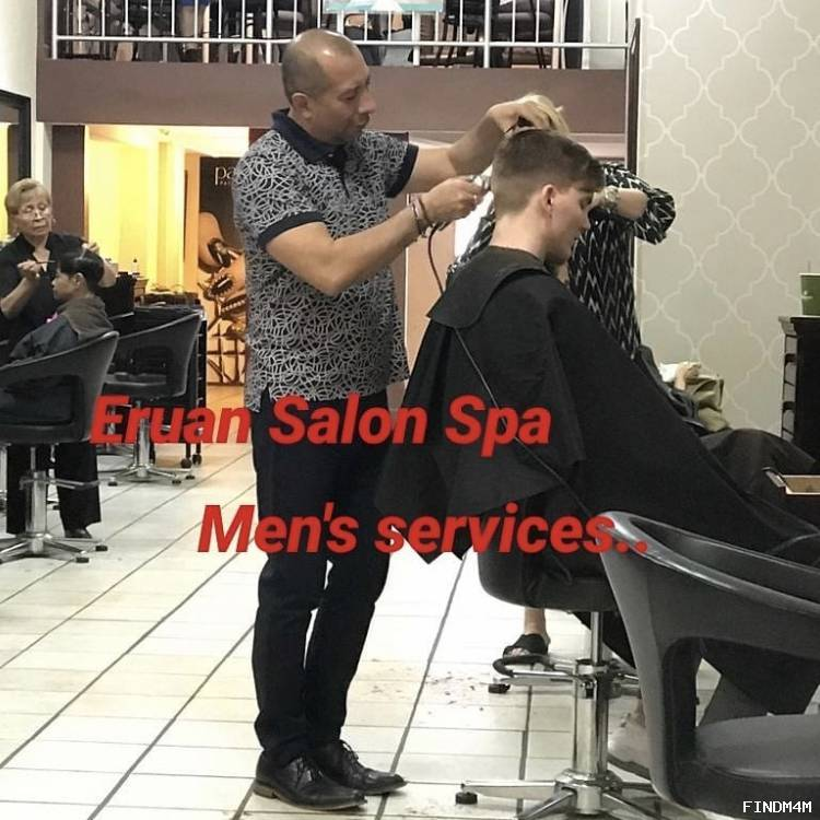 Men's haircuts and color by Jose