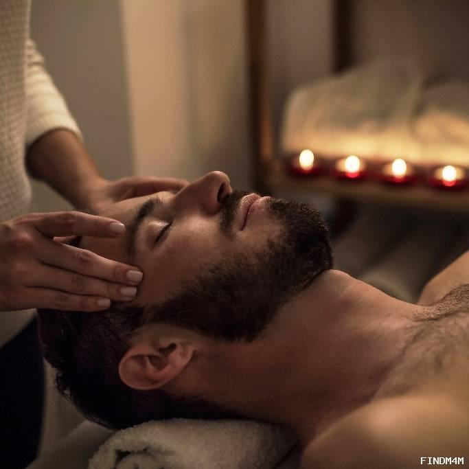 Enjoy a masculine massage today!
